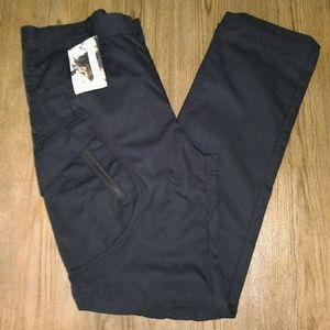 Boys Hiking Pants Black